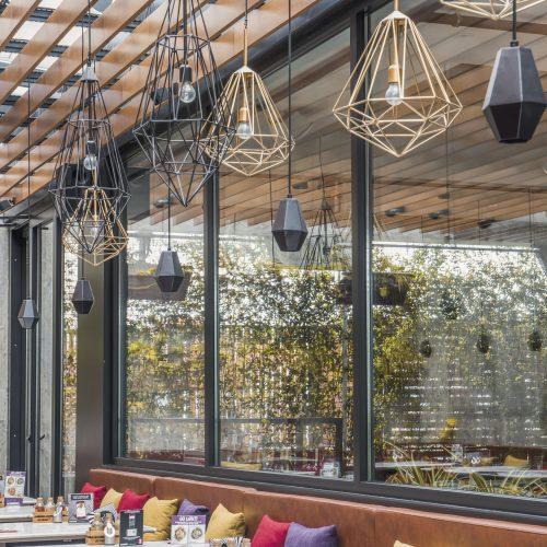 Systèmes en Verre, Terrasse de Restaurant